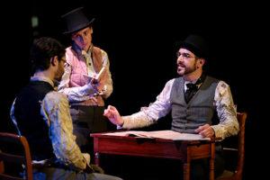 Image extraite de la comédie musicale Jack, l'éventreur de Whitechapel